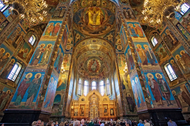 Church of the Saviour on Spilled Blood, St. Petersburg, Russia.
