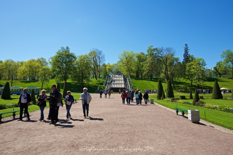 Royal Palace, Peterhof, St. Petersburg, Russia.