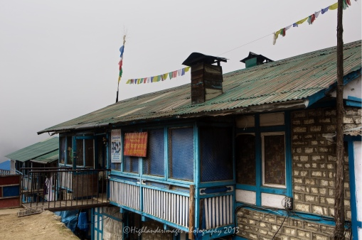 Small restaurant at Namche Bazaar.