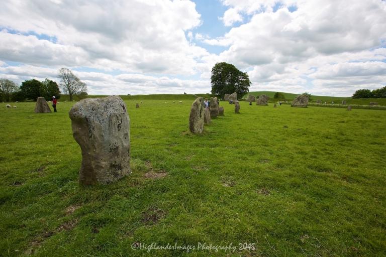 Avebury Standing Stones, UK.