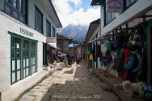 Downtown Lukla.