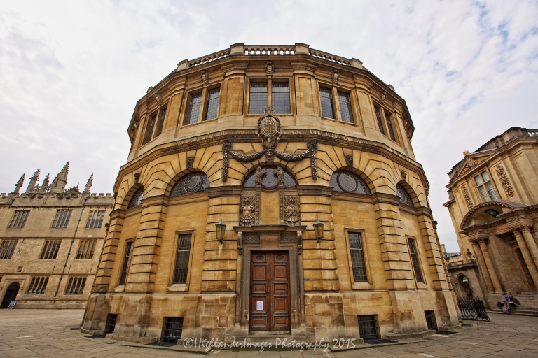 The Sheldonian Theatre, Oxford University, Oxford, UK.