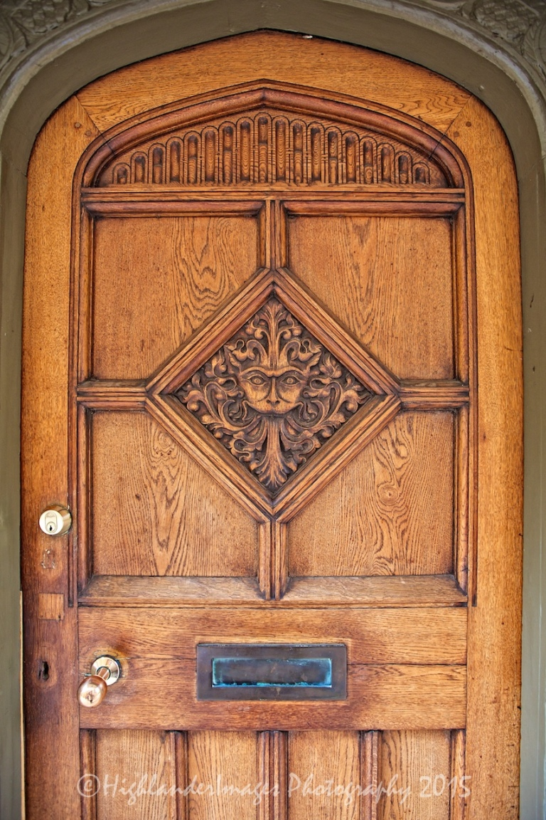 """Narnia Door"", Brasenose College, Oxford University, Oxford, UK"