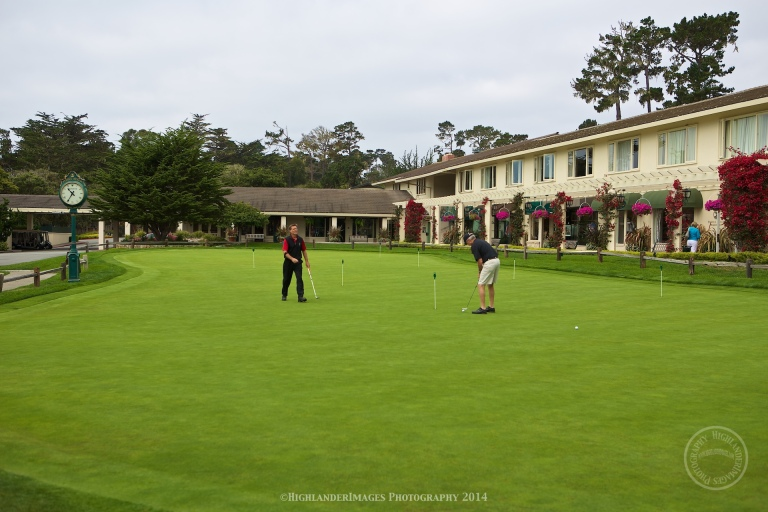Pebble Beach Golf Course, Carmel, California.