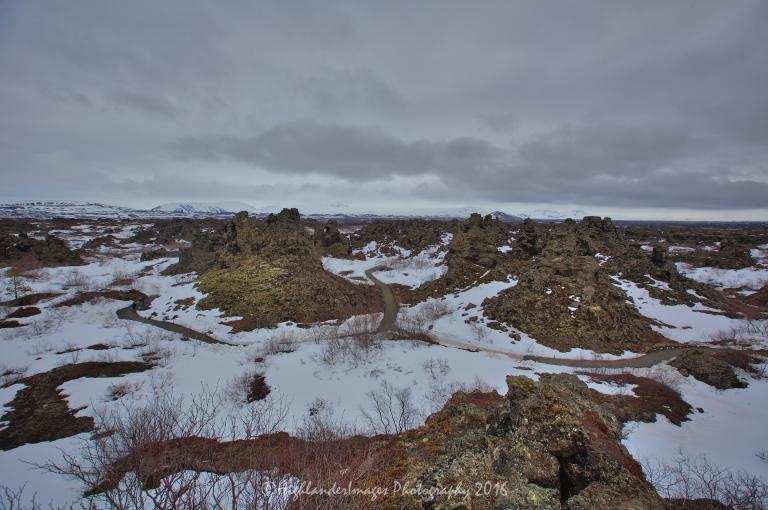 Dimmuborgir, Reykjahlíð, Iceland