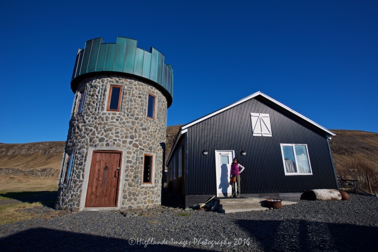 Geitafell Restaurant, Hvammstangi, Iceland