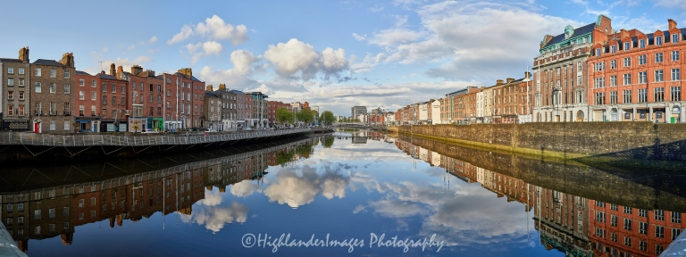 Reflections On The Liffey