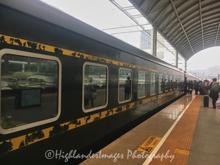 Xining Railway Station, Xining, China