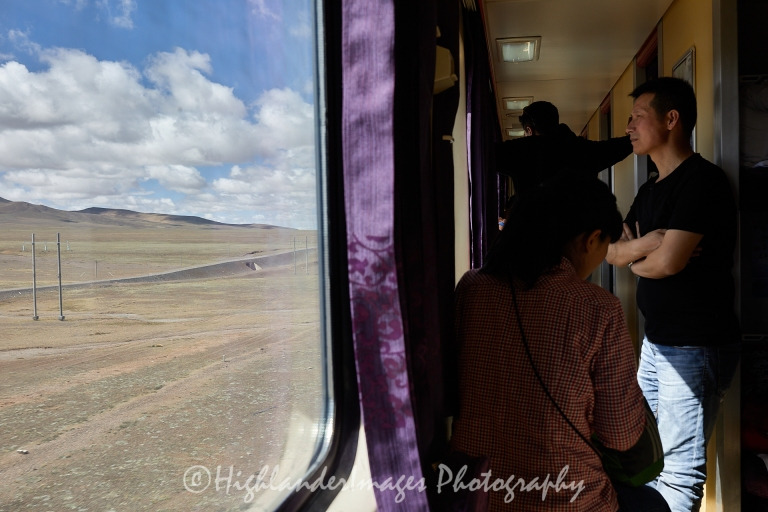 Train from Xining, China to Lhasa, Tibet